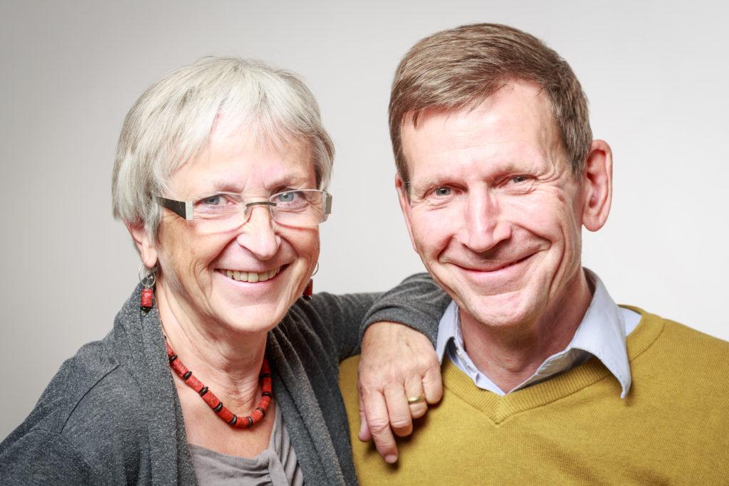Porträtt av Nora & Wijnand Koker