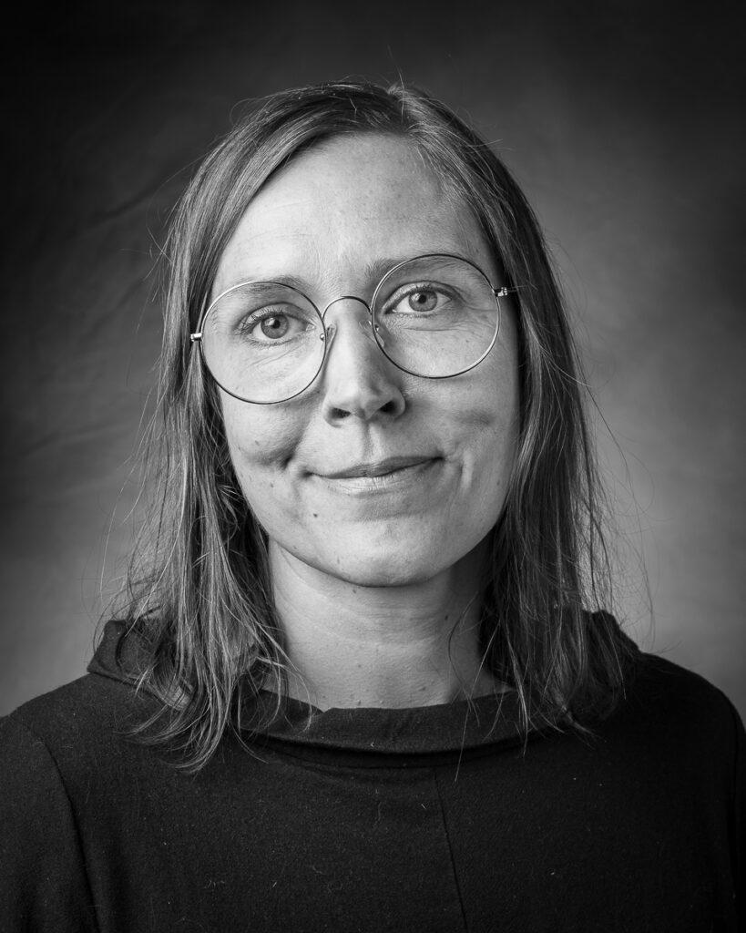 Klara Eriksson, en av medlemmarna i LOD Metallformgivning.