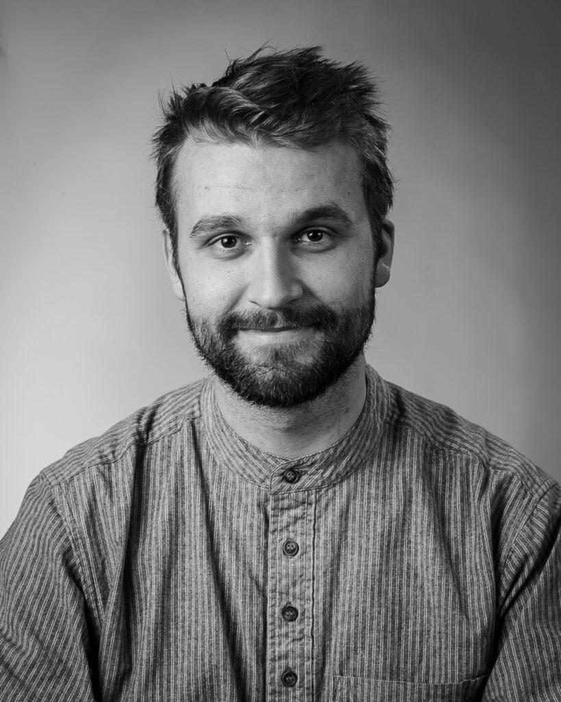 Ole Markus Engmo, elev vid Sätergläntan institutet för slöjd och hantverk.