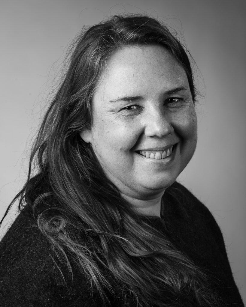 Johannah Ellström, elev vid Sätergläntan institutet för slöjd och hantverk.