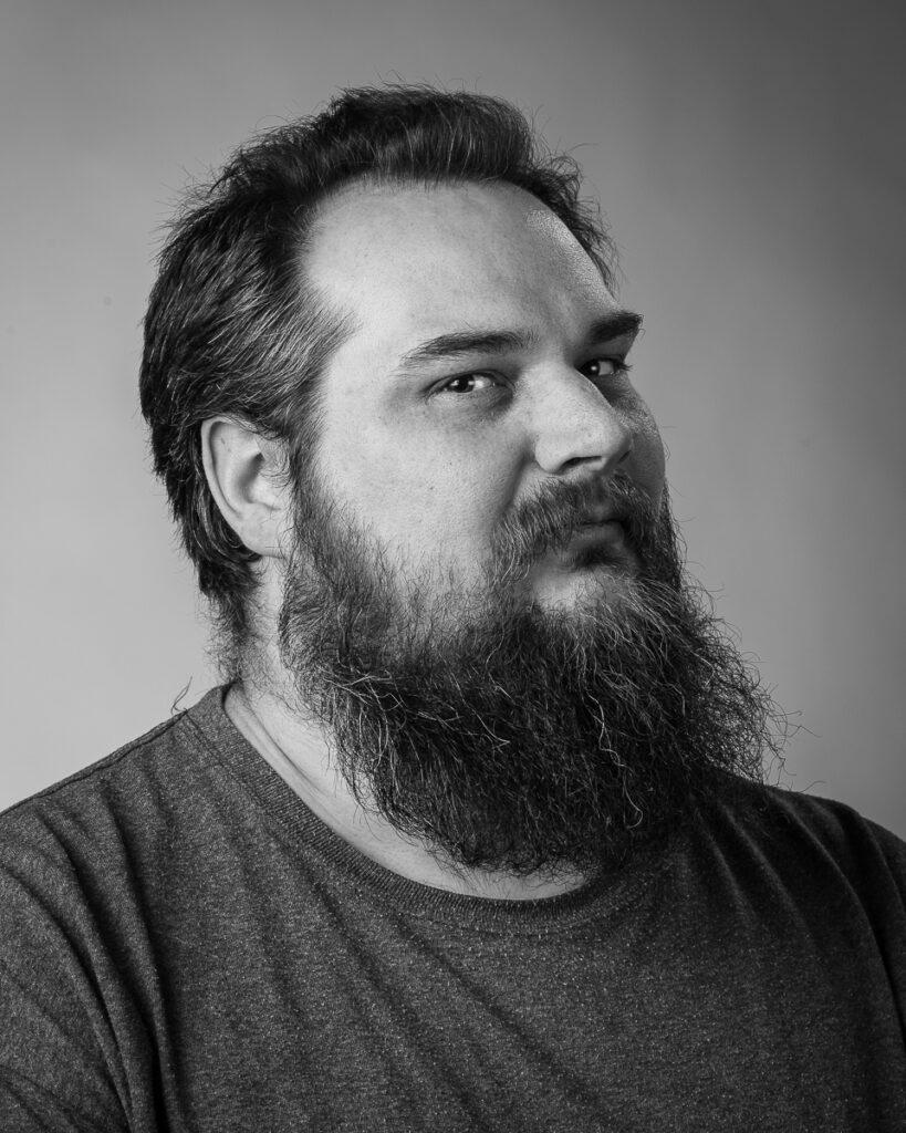 Mathias Arvidsson, elev vid Sätergläntan institutet för slöjd och hantverk.
