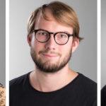 Porträtt av elever vid Leksands folkhögskola Metall.