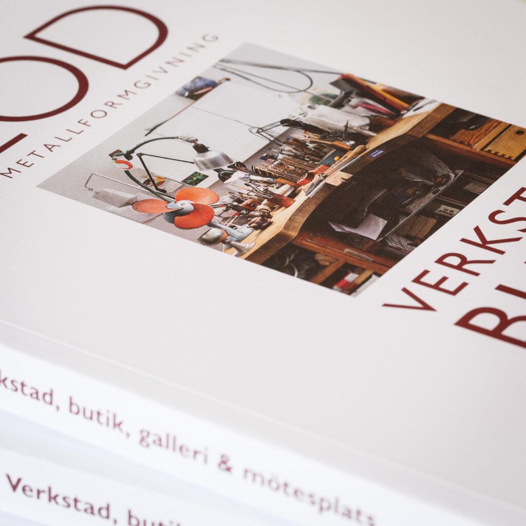 Boken LOD Metallformgivning - verkstad, butik, galleri & mötesplats